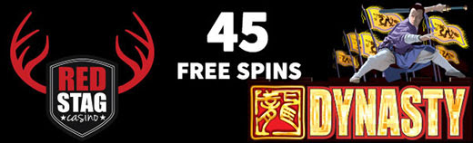45 free spins red stag casino