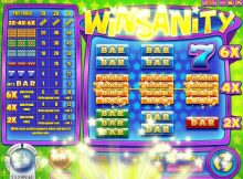 Winsanity Online Slot Machine